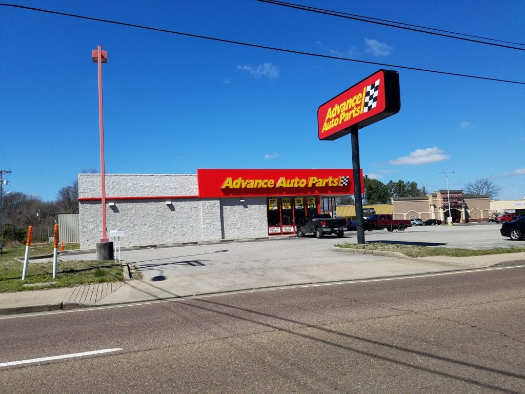 STLB Advanced Auto Parts property